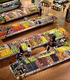 Discount supermarket